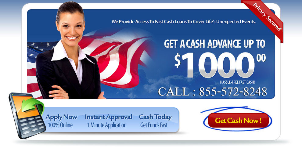 PaydayLoans.Com ® Cash Loans Up to $1,000 - Bad Credit OK